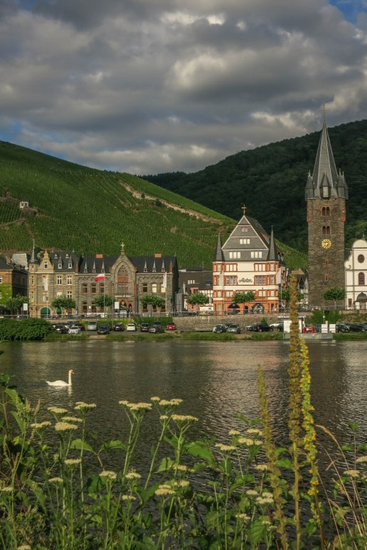 The Mosel and Bernkastel-Kues